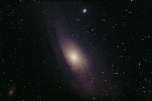 M31 - Andromeda Galaxy - Stephen Charnock - 26/09/2014