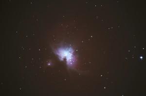 M42 – Orion Nebula – Andrei Karpenko – 19/02/2012