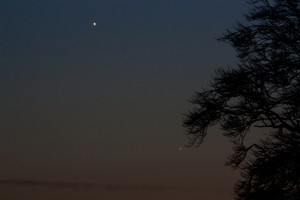 Venus and Mercury - Pete Hill - 04/01/2015