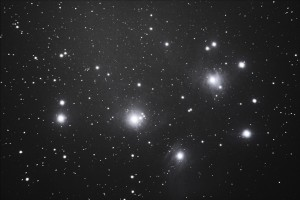 M45 - The Pleiades - Andrei Karpenko - 22/12/2013